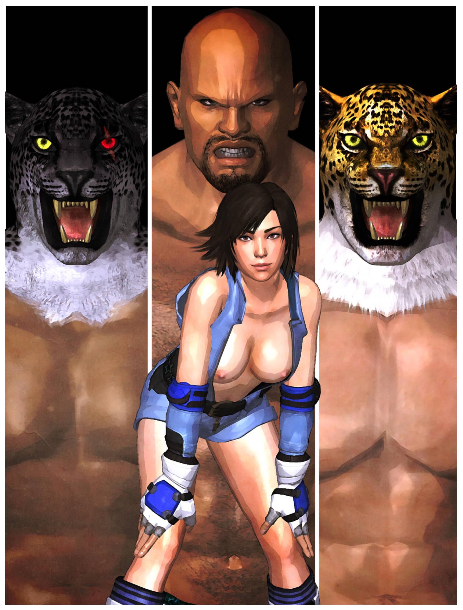 Asuka's Training - page00 Cover Tekken,  xxx porn rule34