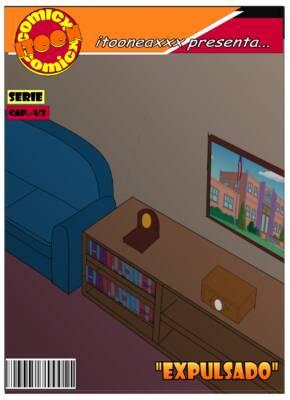 Expulsado (Spanish) - page00 Cover BurnButt