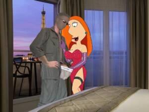 Lois Rabbit in Paris - page01 BurnButt