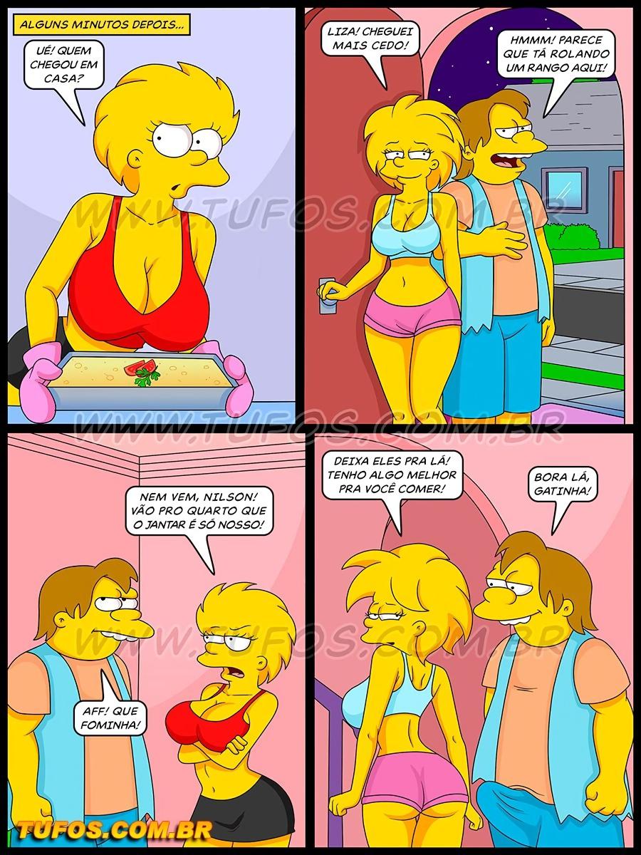 Os Simptoons 026 (Portuguese) - page02 Simpsons,  xxx porn rule34