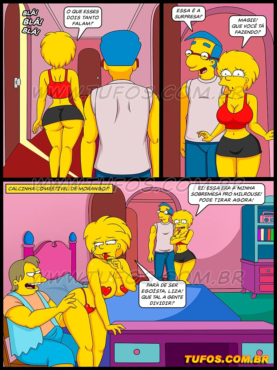 Os Simptoons 026 (Portuguese) - page04 Simpsons,  xxx porn rule34