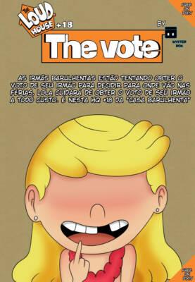 The Vote (Portuguese) - page00 Cover BurnButt