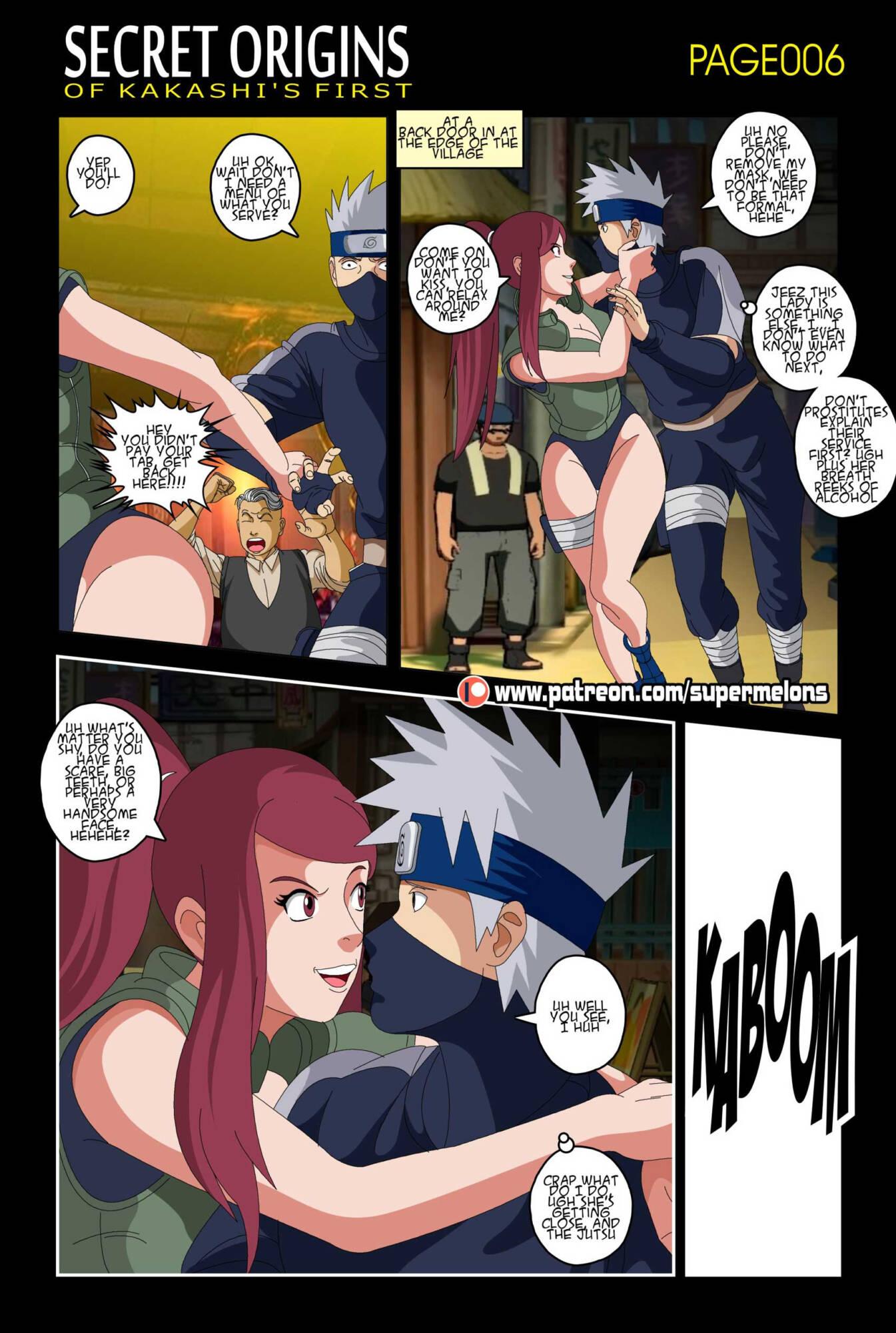 Secret Origins of Kakashi's First (English) - page006 Naruto,  xxx porn rule34