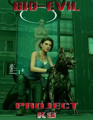 Bio-Evil Project K9 (English) - page00 Cover BurnButt