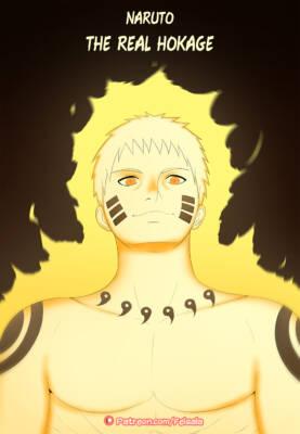Naruto The Real Hokage (English) - page00 Cover BurnButt
