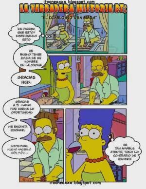 El Diablo No Usa Nada (Spanish) - page01 BurnButt
