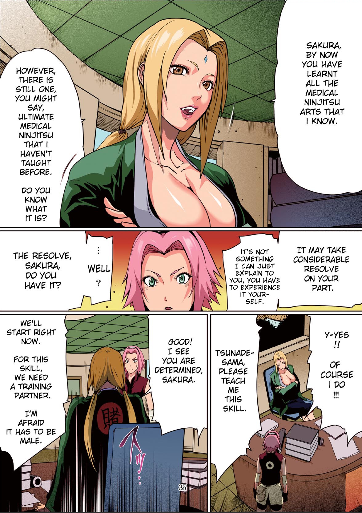 Naru Love 2 (English Color) - page04 Naruto,  xxx porn rule34