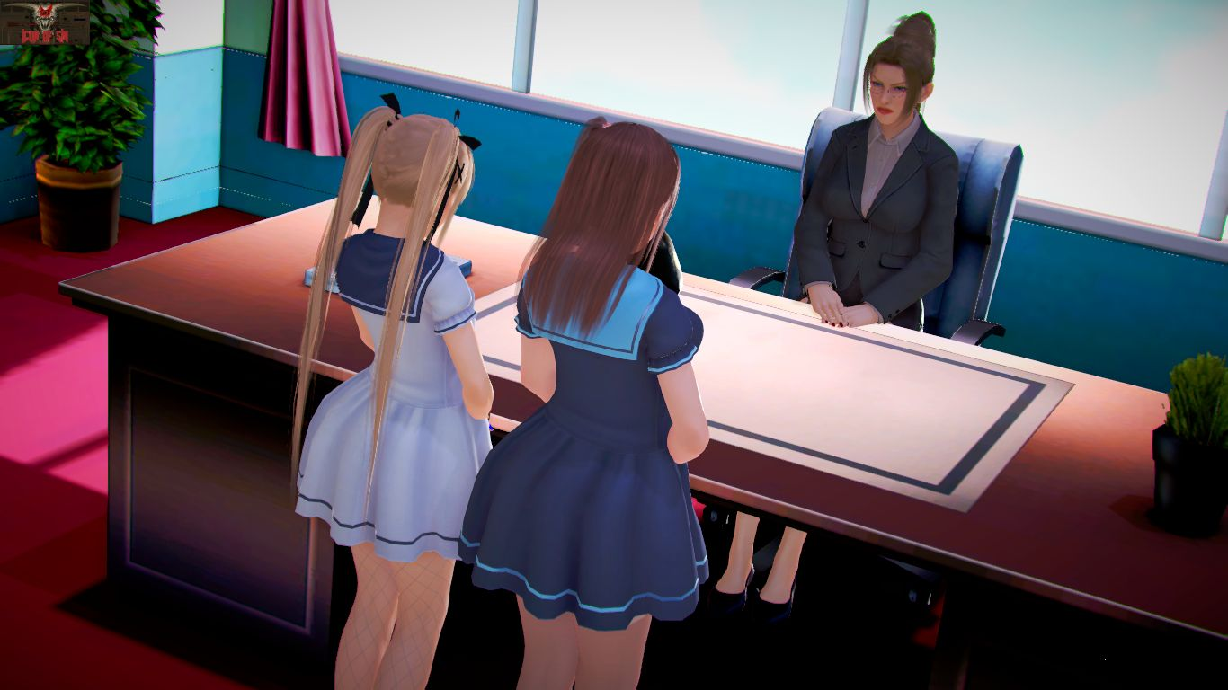 Marie & Honoka's Detention - page01 Dead or Alive,  xxx porn rule34