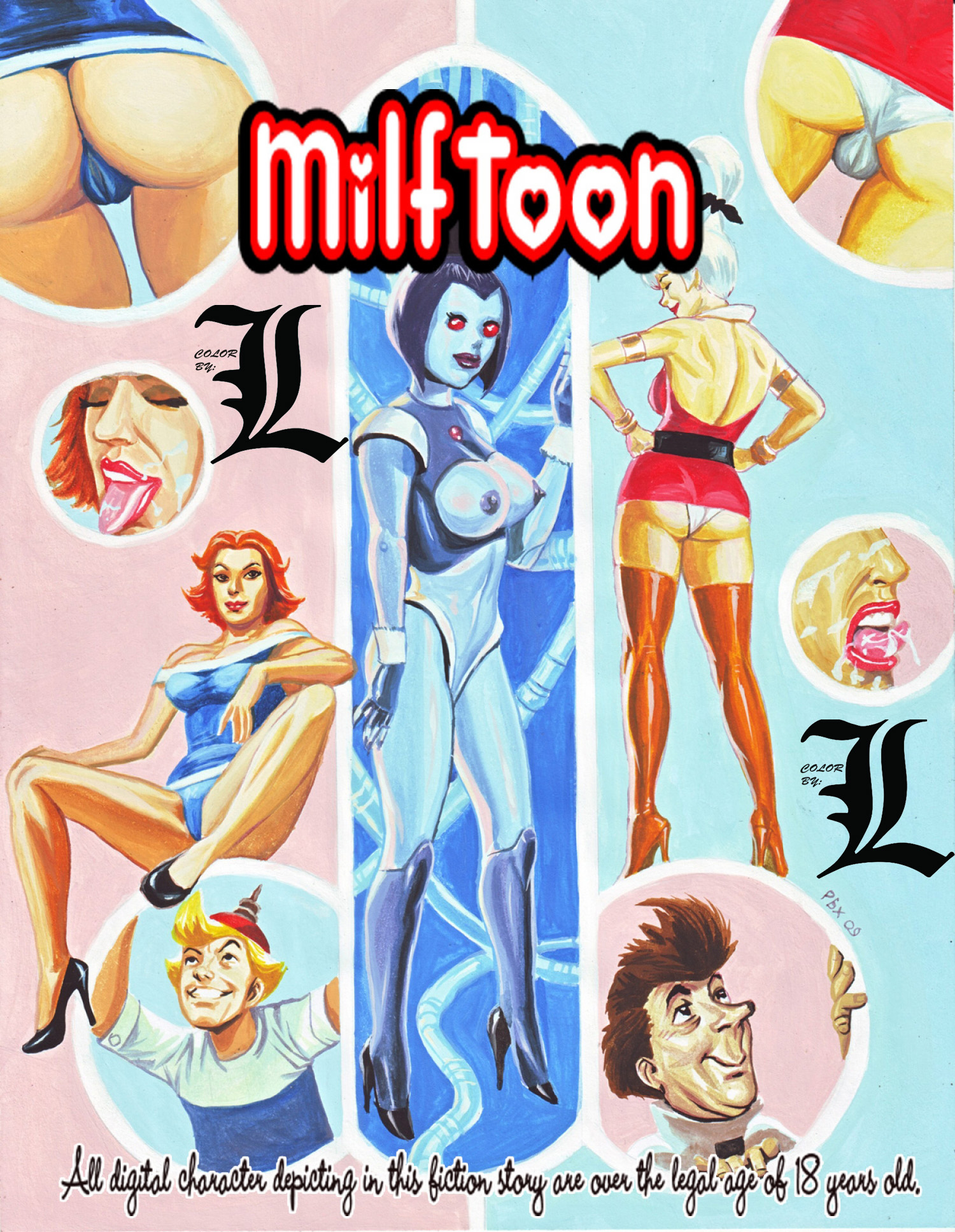 Robot Jepsons (English Color by L) - page00 Cover Jetsons,  xxx porn rule34