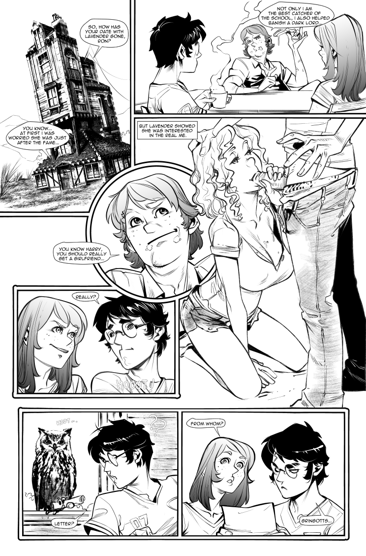 The Harry Potter Experiment #5 - The Bones Alliance (English) - page01 Harry Potter,  xxx porn rule34