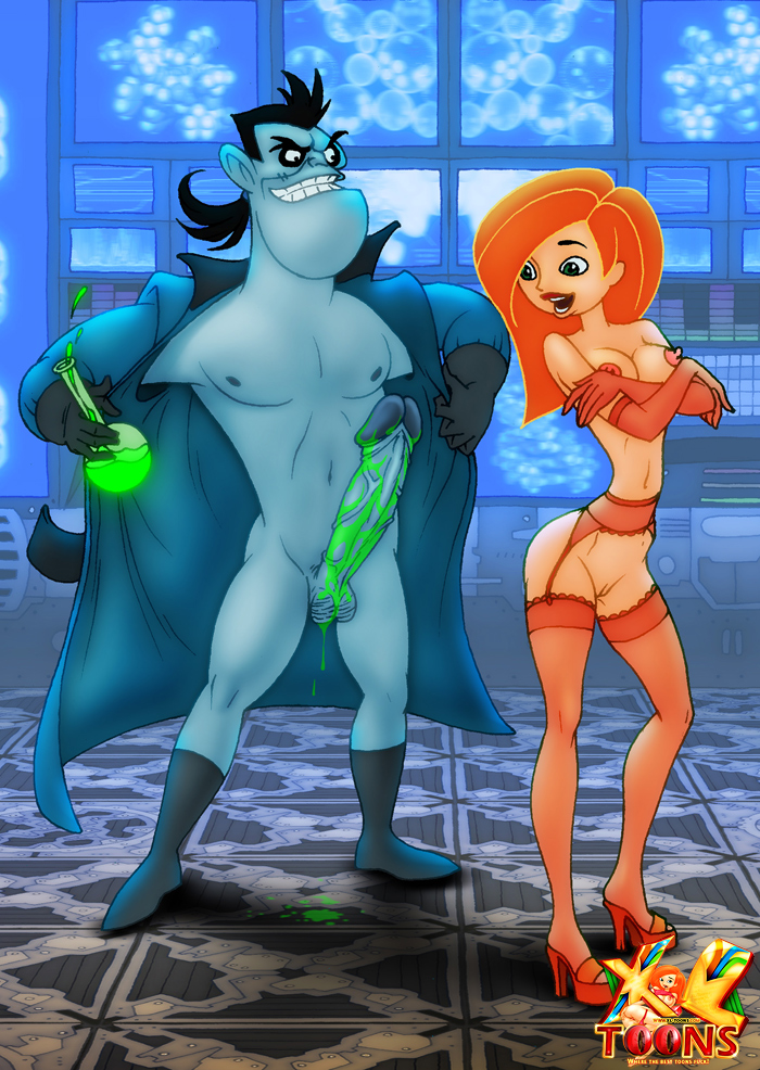 Kim Possible Plays With Dr. Drakken's Growth Serum - page01 Kim Possible,  xxx porn rule34