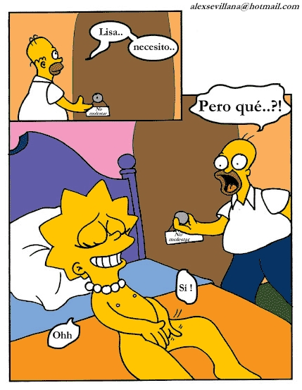 Kiss the Chef (Spanish) - page02 Simpsons,  xxx porn rule34