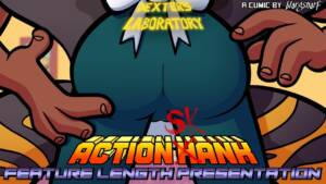 Action Skank - Extended Features (Korean) - page00a Cover BurnButt