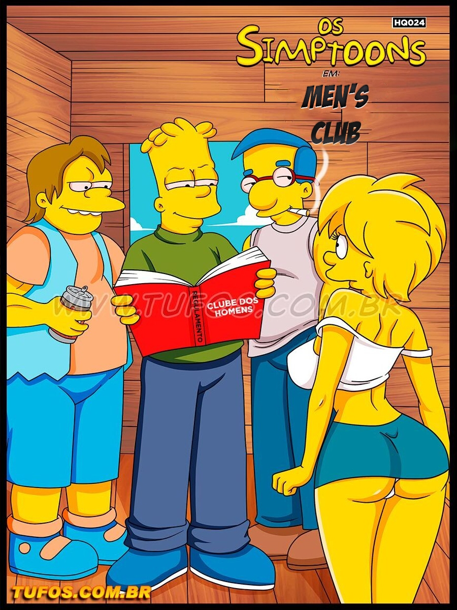 Os Simptoons 024 (English) - page00 Cover Simpsons,  xxx porn rule34