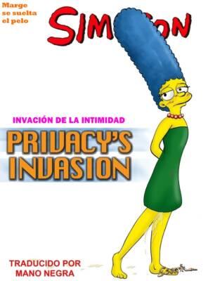 Privacy's Invasion (Spanish) - page00 Cover BurnButt