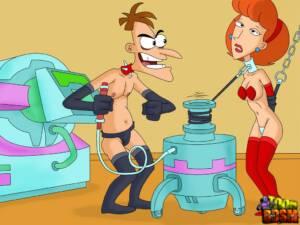 Phineas vs Ferb XXX #1 - Toys of Geniuses - page01 BurnButt