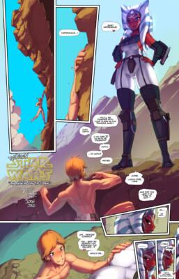 Not Even Star Wars Arousal (English) - page01 BurnButt