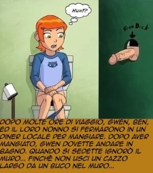 Gwen-Glory-Hole (Italian) - page01 BurnButt