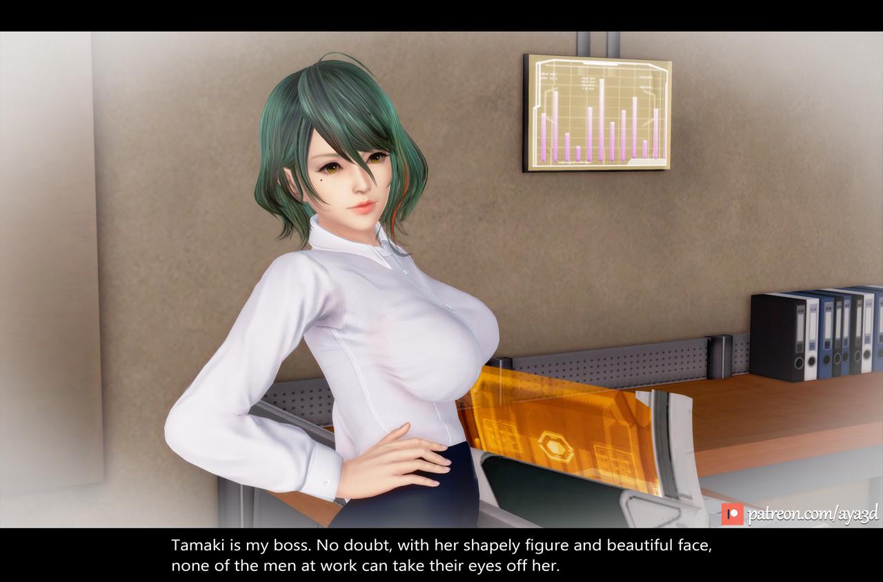 Tamaki - Beautiful Female Boss (English) - page05 Dead or Alive,  xxx porn rule34