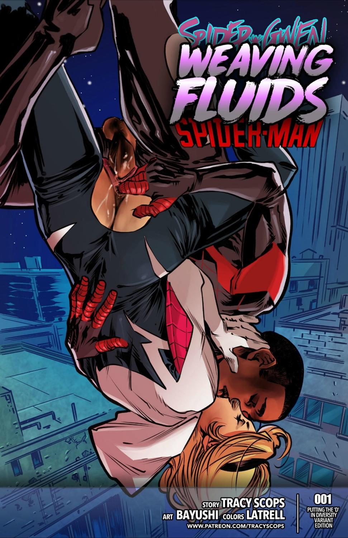 Weaving Fluids #1 (Spanish) - page00 Cover Batman,Marvel Universe,Spider-Man,  xxx porn rule34
