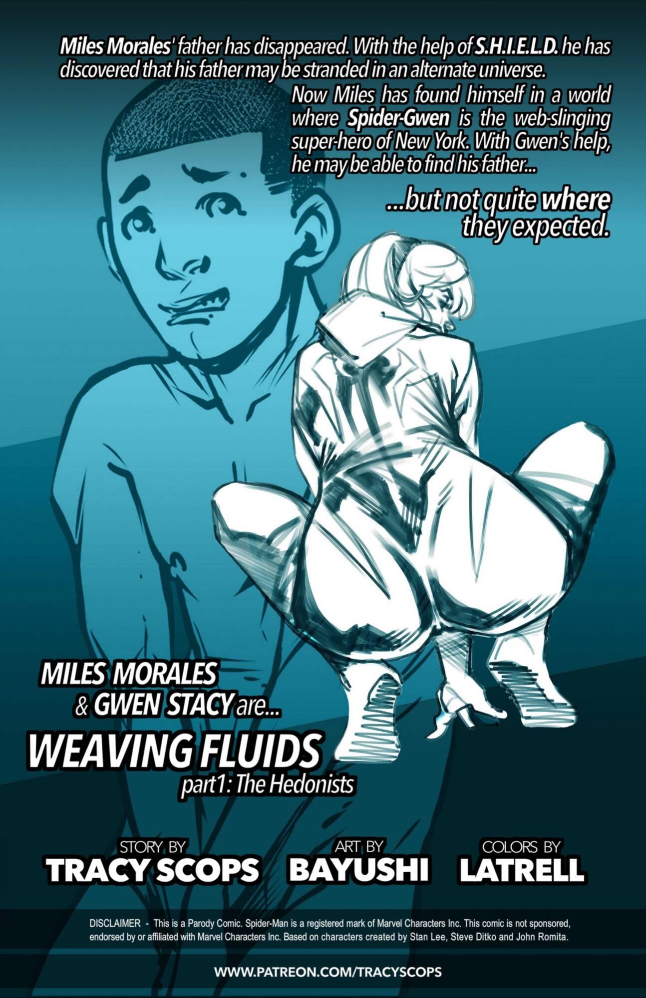 Weaving Fluids #1 (Spanish) - page00 Info Batman,Marvel Universe,Spider-Man,  xxx porn rule34