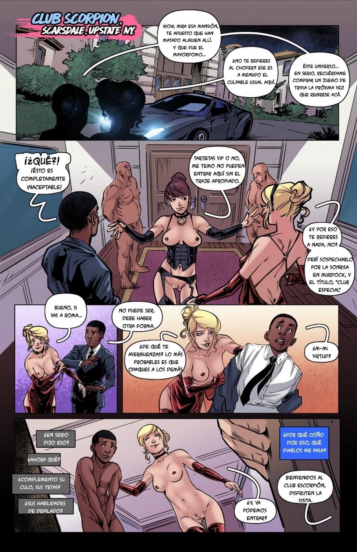 Weaving Fluids #1 (Spanish) - page03 Batman,Marvel Universe,Spider-Man,  xxx porn rule34