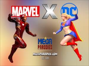 Marvel x DC (Korean) - page00 Cover BurnButt