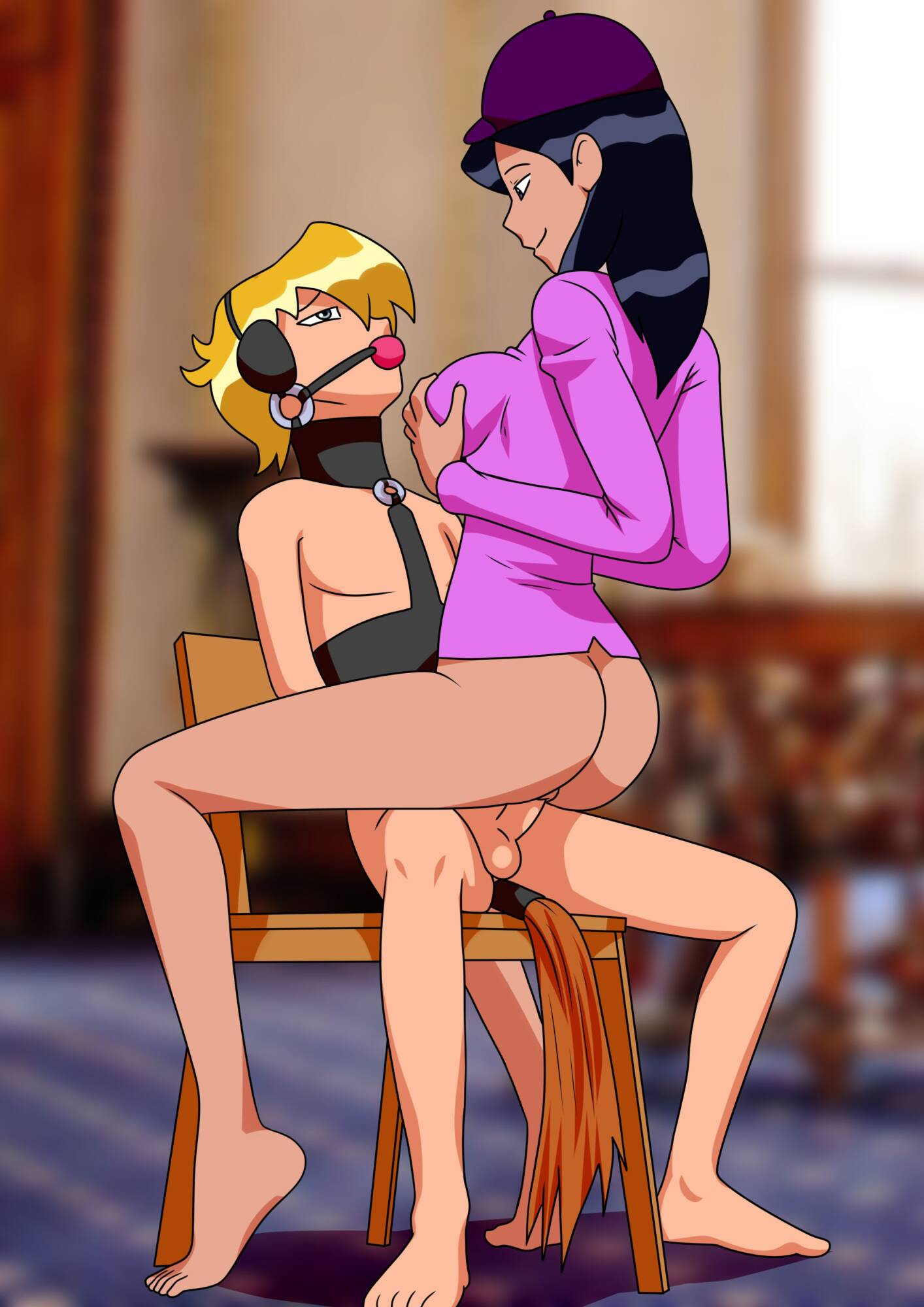 Totally Ponies - page04 Total Drama Island,Totally Spies,  xxx porn rule34