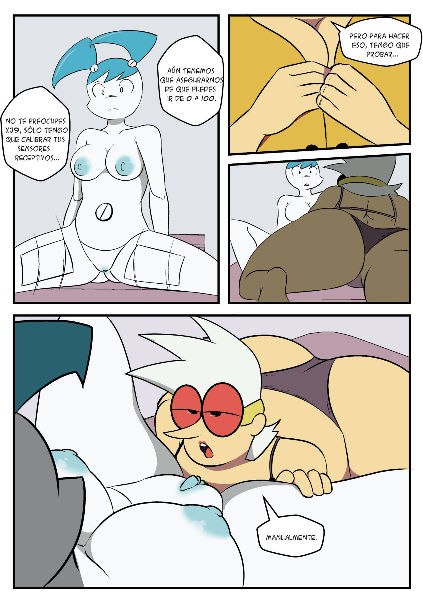 Short Circuit (Spanish) - page07 My Life As a Teenage Robot,  xxx porn rule34