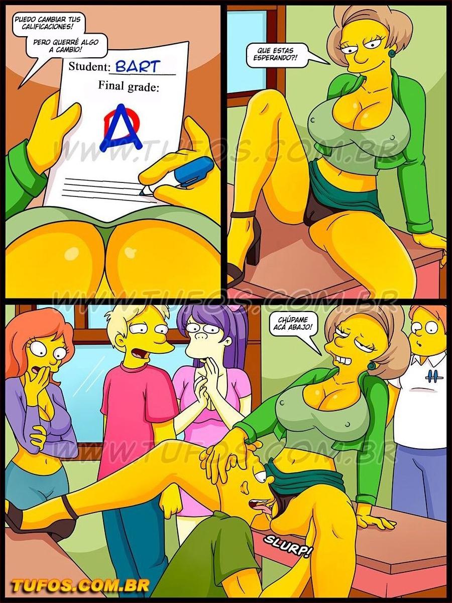 Os Simptoons 028 (Spanish) - page02 Simpsons,  xxx porn rule34