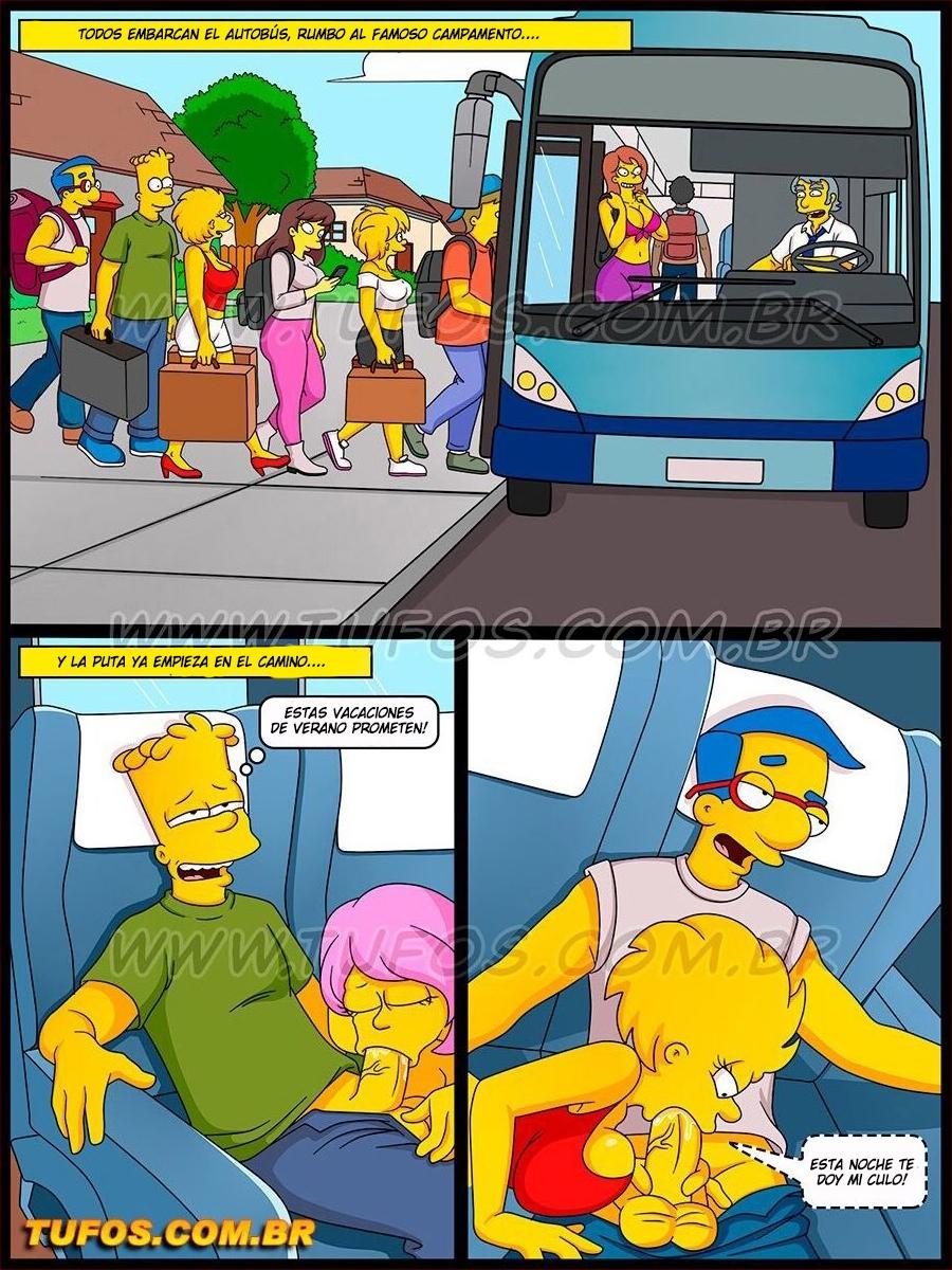 Os Simptoons 028 (Spanish) - page08 Simpsons,  xxx porn rule34