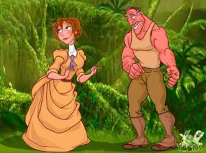 Tarzan Is Not Enough - page01 BurnButt