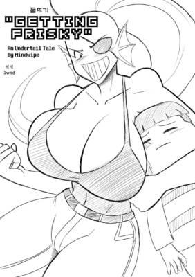 Getting Frisky (Korean Mono) - page00 Cover BurnButt