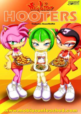 Mobian Hooters (Spanish) - page00 Cover BurnButt
