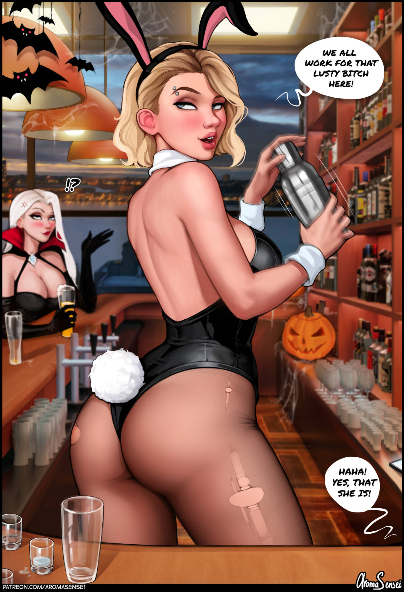 Halloween Party at Frozen Inc! (English) - page02 Frozen,  xxx porn rule34