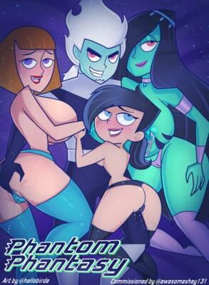 Phantom Phantasy (English) - page00 Cover BurnButt