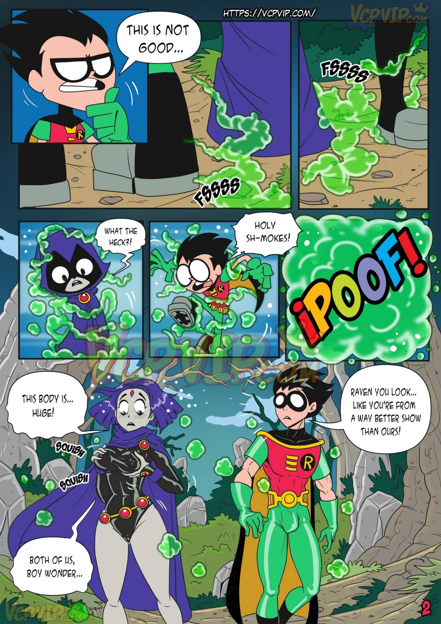 Stranded (English) - page02 DC Comics,Superman,Teen Titans,  xxx porn rule34