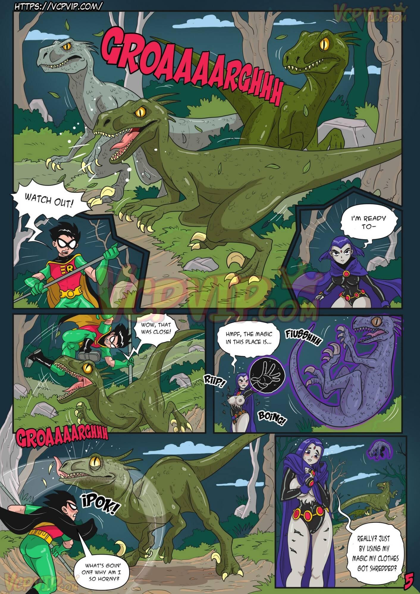 Stranded (English) - page05 DC Comics,Superman,Teen Titans,  xxx porn rule34