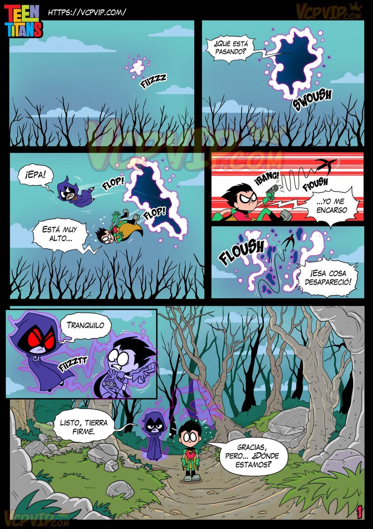 Stranded (Spanish) - page01 DC Comics,Superman,Teen Titans,  xxx porn rule34