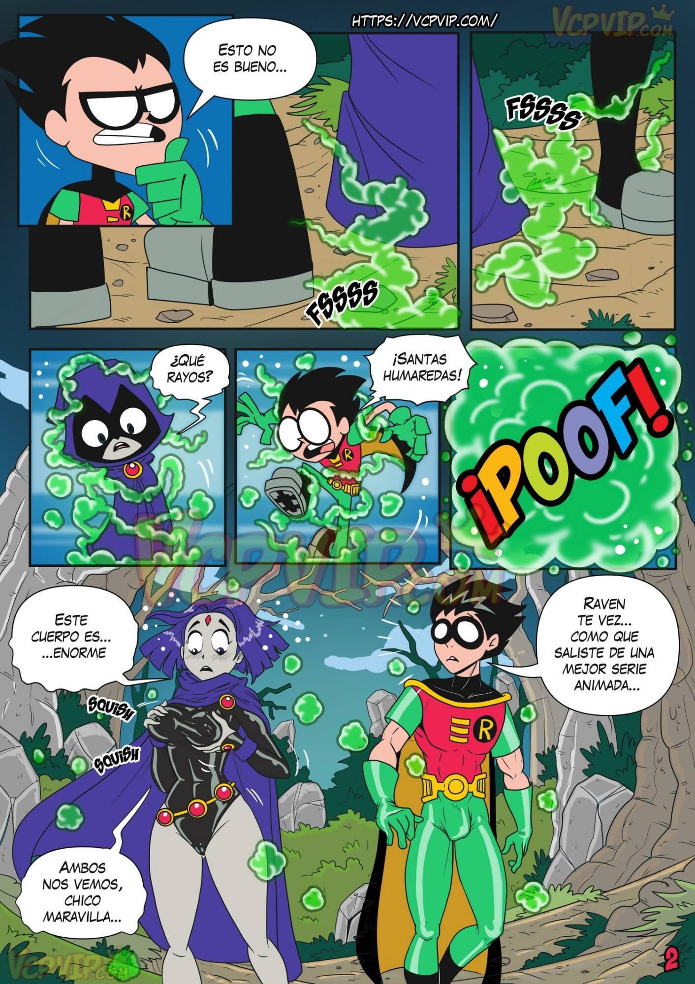 Stranded (Spanish) - page02 DC Comics,Superman,Teen Titans,  xxx porn rule34