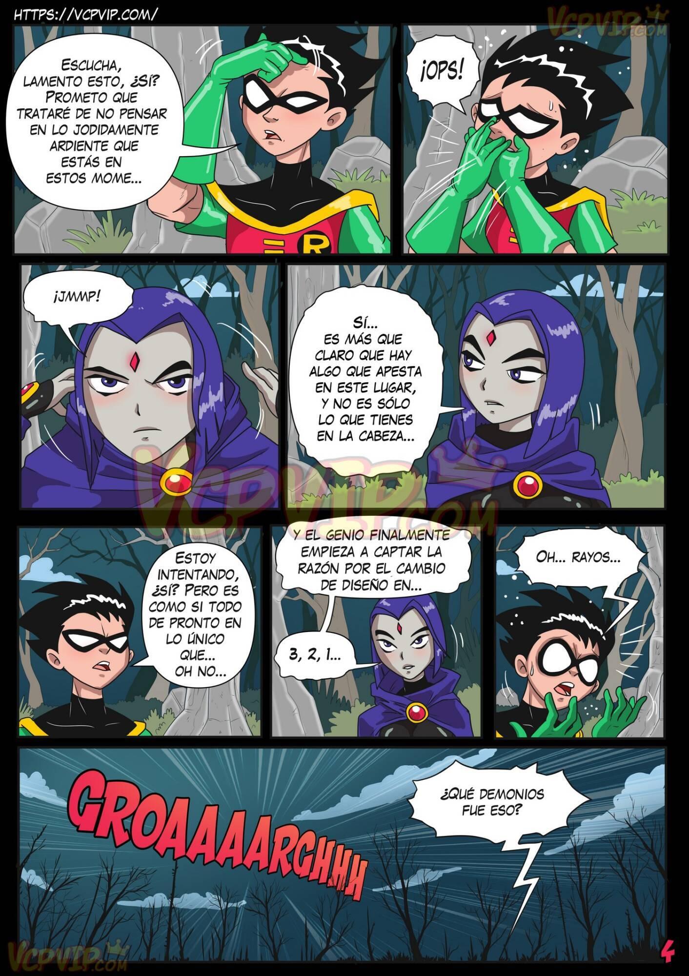 Stranded (Spanish) - page04 DC Comics,Superman,Teen Titans,  xxx porn rule34