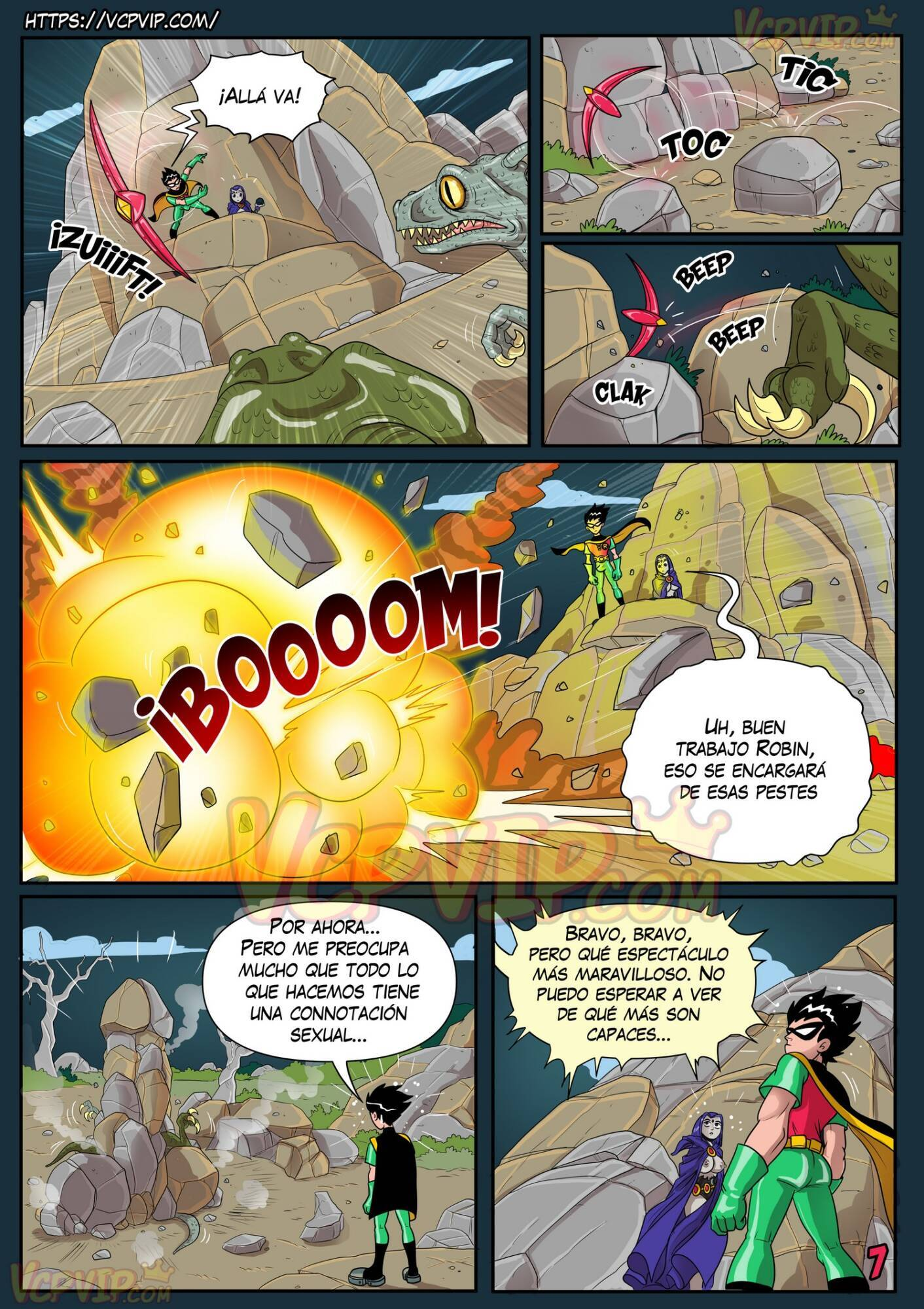 Stranded (Spanish) - page07 DC Comics,Superman,Teen Titans,  xxx porn rule34