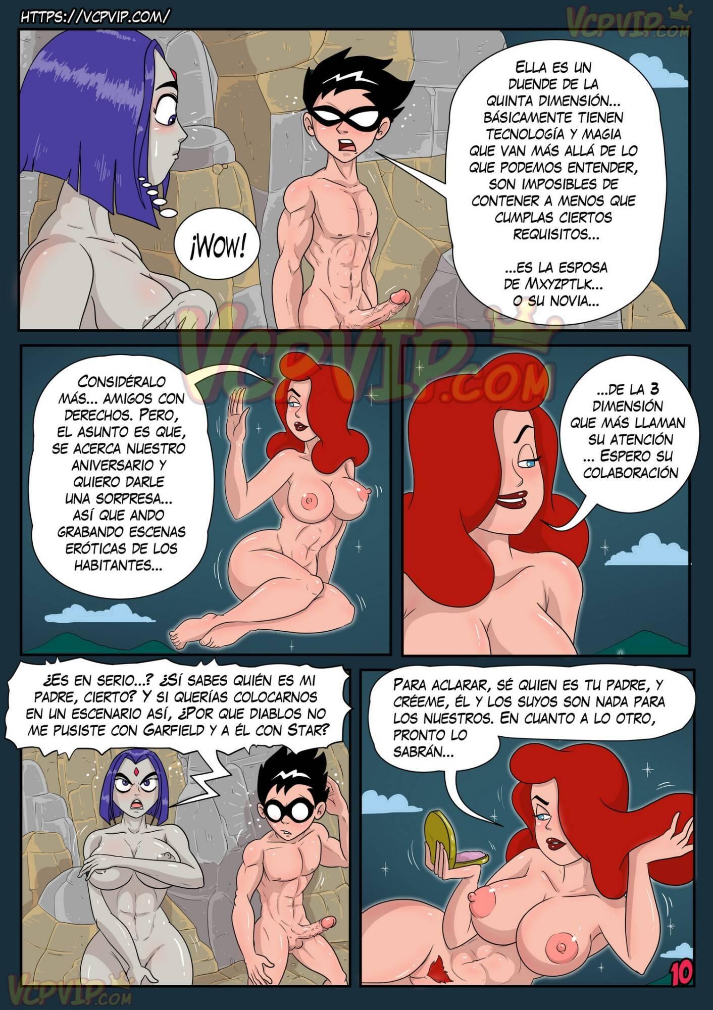 Stranded (Spanish) - page10 DC Comics,Superman,Teen Titans,  xxx porn rule34