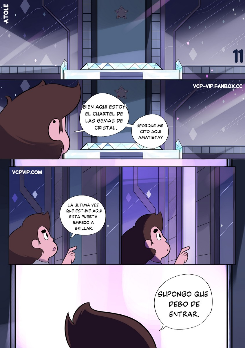 Greg Universe and the Gems of Lust 2 (Spanish) - p11 Steven Universe,  xxx porn rule34