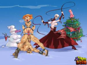 Mixed - Christmas Parody - page01 BurnButt