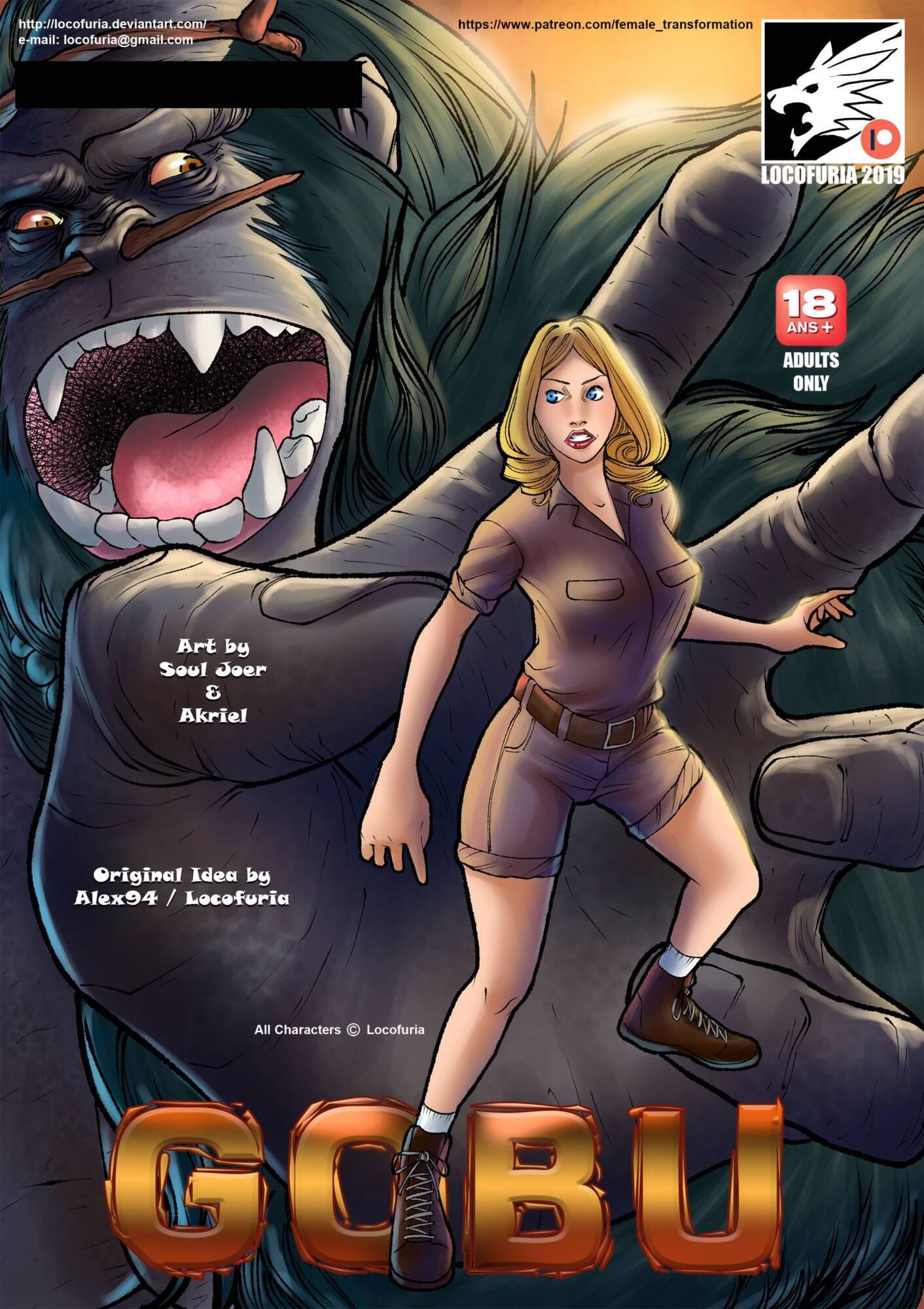 Gobu (English) - page00 Cover Tarzan,  xxx porn rule34