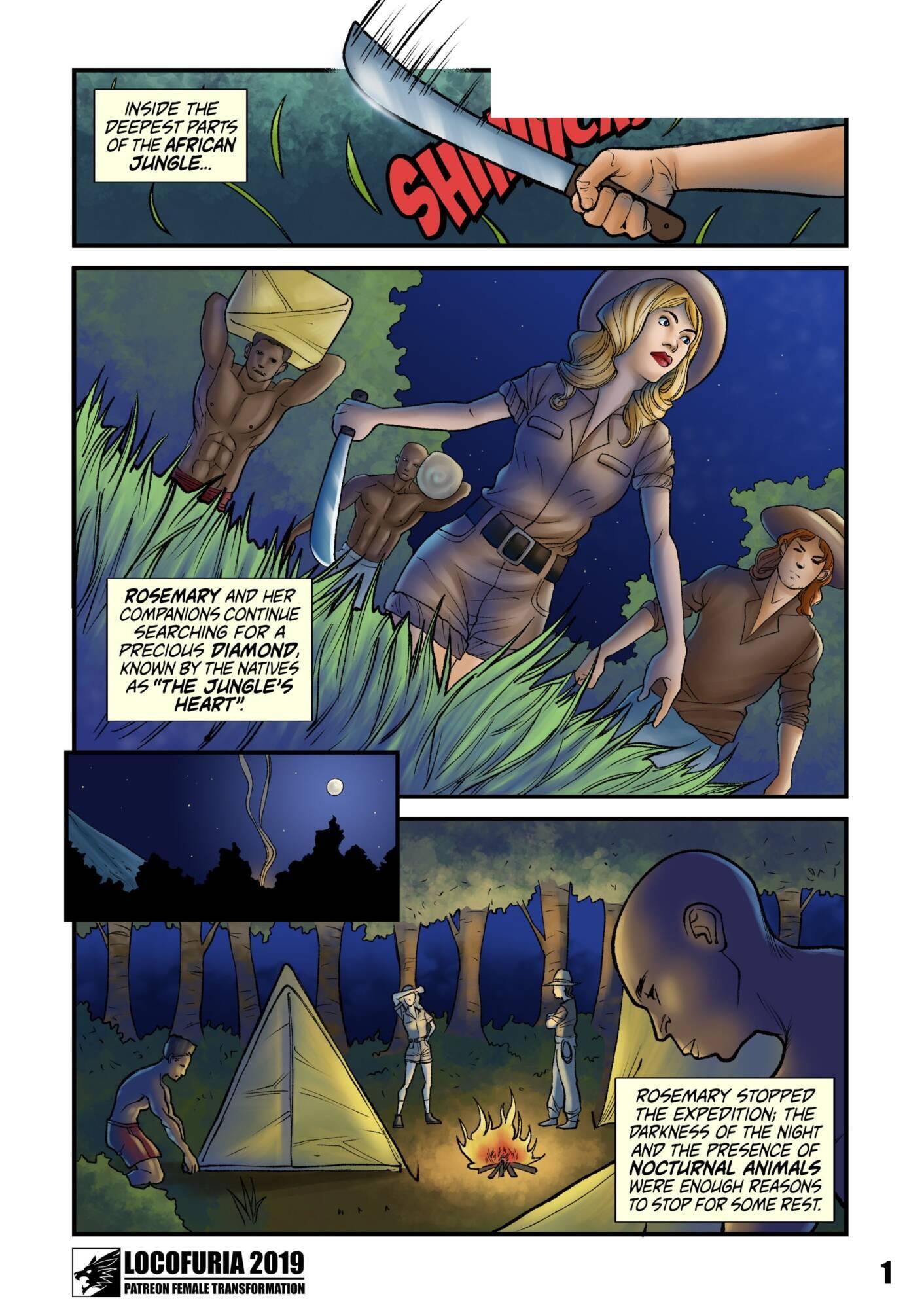 Gobu (English) - page01 Tarzan,  xxx porn rule34