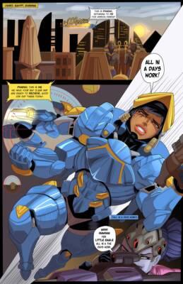 Target Pharah (English) - page01 BurnButt