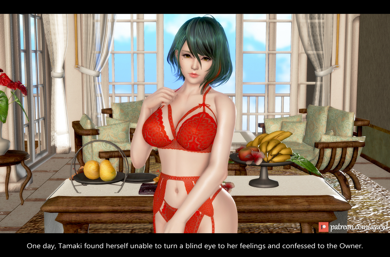 Tamaki - Confession (English) - page01a Dead or Alive,  xxx porn rule34