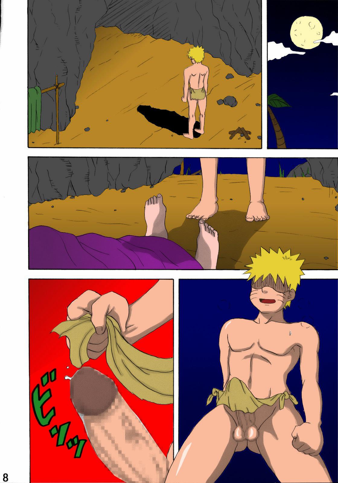 Jungle de Ikou! (Russian Colorized) - page08 Naruto,  xxx porn rule34